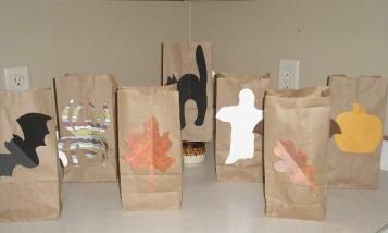 Halloween Handout  Bags