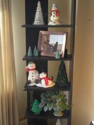 "Corner Shelf at Christmas ""13"""