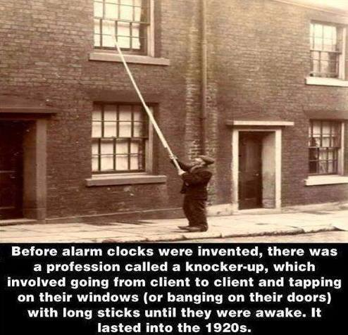 first alram clocks