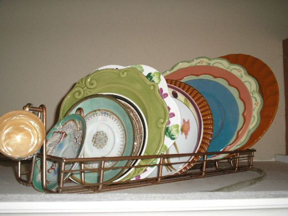 Artzzle Fun Finds Project, Plate Rack