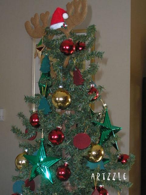 Reindeer Horns Tree Topper, Artzzle at Christmas